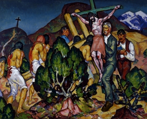 Holy Week in New Mexico, William Penhallow Henderson