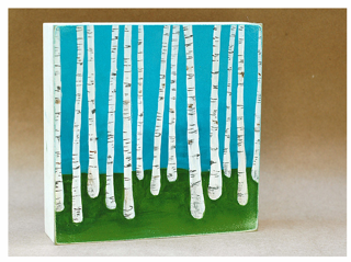 Birch Forest 4,Lisa Congdon