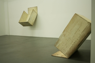 Installation view, Prop Paintings 	, Lawrence Carroll