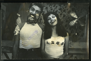 Gronk and Teresa Covarrubias, Jr., Harry Gamboa