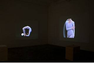 Installation view of Circumvolver, Laura Riboli