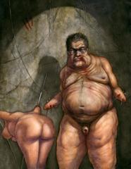 """The Wretched"" Self Portrait, John U. Abrahamson"