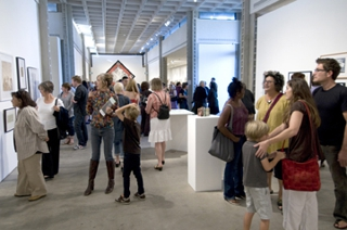 Opening reception, National Juried Competition