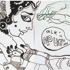 Luck_for_the_moon-struck__-_ink_on_paper_-_12__x72___-_2009