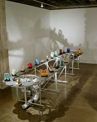 Conveyor with 24 Sculptures, Matt Gil