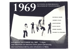 """1969"" poster,"