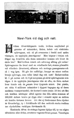 Page from August Palm\'s 1901 book Ögonblickbilder ,