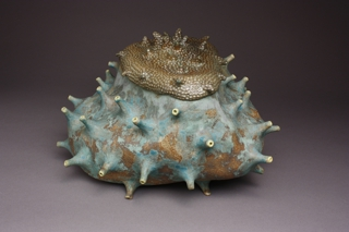 Seed Tureen 2, Blue/Yellow, Mandy Stapleford