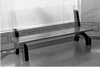 Earth,Seed, Water Bus Bench,