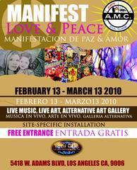 MANIFEST LOVE&PEACE,