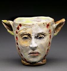 All Ears cup #13679, Debra Fritts