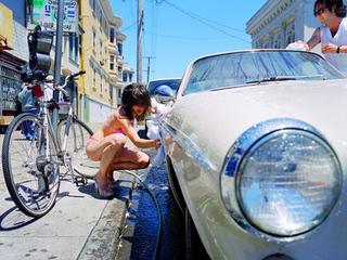 Bikini Carwash Volvo, Liz Cohen