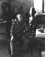 Picasso and the primitive sculpture, Lucien Clergue