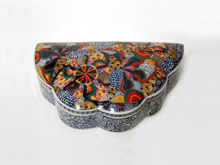 Untitled Lidded Box, Ralph Bacerra