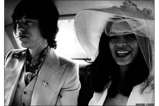 Lord Lichfield: Mick and Bianca Jagger,