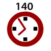 140-hours-logop