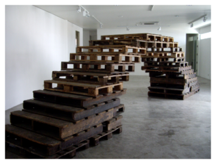 Bridge. Installation view, Mo_Space, Manila, Ringo Bunoan