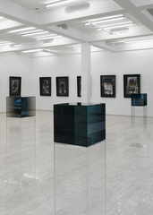 Installation Shot,Larry Bell