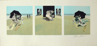 Triptych, 1977. Francis Bacon, Gift of Herb Beenhouwer,