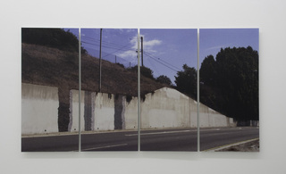 What if walls vanished from the freeway, would it make a sound?, Ruben Ochoa