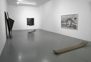 "Installation View of ""W"",Kate Atkin and Becky Beasley"