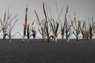 Improvised Grass (detail), Scott Wolniak