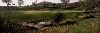 Maderas Golf Club, 1st Green, Poway, CA, Skeet McAuley