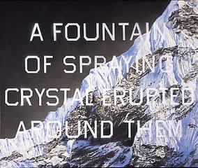 Fountain of Crystal, Ed Ruscha