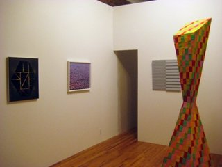 Abstraction Ain\'t Dead (installation shot), Joshua Abram Howard, Ziad Naccache, Anthony Baab, Laura Braciale