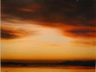 Golden Gate Bridge, 12.23.97, 5:16pm  , Richard Misrach