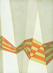 Untitled (Diagonals) ,Tomma Abts