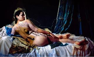 Self-portrait as Odalisque , Rheana Gardner
