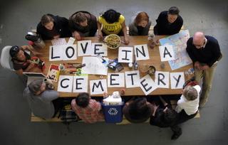 Love in a Cemetery, Otis Public Practice Studio