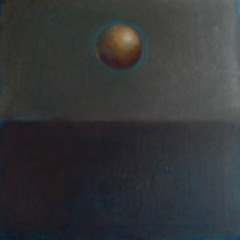 Gold Orb, Evening,Linda Hope