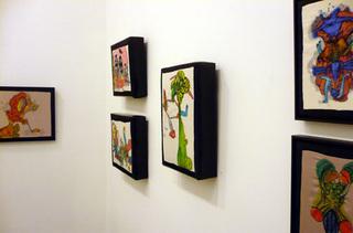 Installation view, Leslie Kneisel