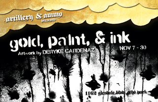 , A solo show by Deryke Cardenaz