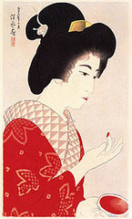 Rouge,Japan, Taisho period, Itō Shinsui