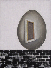 Allegory of Painting as Humpty Dumpty, Jenna Gribbon