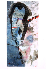 Black, Red and Blue, Carole Naggar