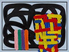 Jonathan-lasker-love-light-and-dark-2009-oil-on-linen