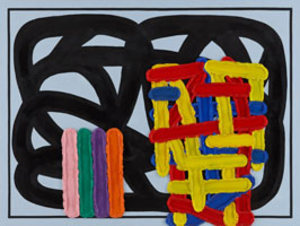 Jonathan-lasker-love-light-and-dark-2009-oil-on-linen