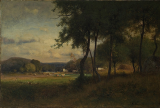Landscape with Cattle, George Inness