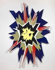 Explosion II, Roy Lichetenstein