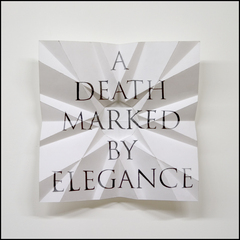 A Death Marked By Elegance, James Melinat