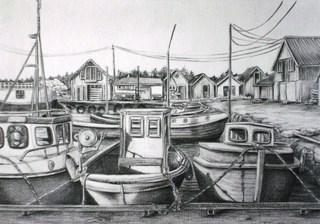 Ølberg harbour., Fred Hebing