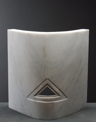 Carrara Curved Triangle, Beverly Pepper