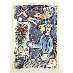 The Blue Studio, Marc Chagall