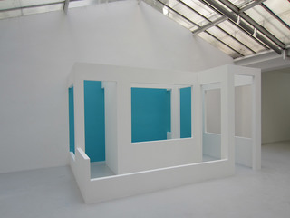 Exhibition view  – « Half », Krijn De Koning
