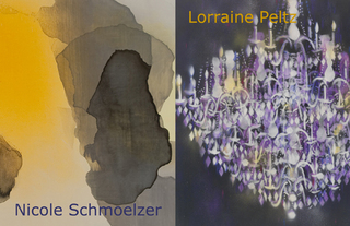 Lorraine Peltz,Nicole Schmoelzer: Staining 0808-073; Chandelier-Black,
