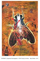 Title- OINTMENT (Unguentum Kosmographia), Baiju Parthan